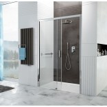 Drzwi wnękowe przesuwne 100x190 Sanplast D2L FREEZONE 600-271-3110-38-401 sbW0