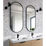 Duże lustro czarne 50x115 Giera Design AMBIENT SLIM AMB/SL/B/50x115