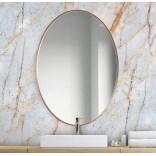 Duże lustro owalne 70x105 Giera Design SCANDI SLIM SCO/SL/M/70x105 miedziane
