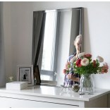 Duże lustro prostokątne 80x120 Giera Design ECLAT ECL/SV/80x120