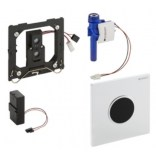Elektroniczny zawór spłukujący do pisuaru Sigma10 Geberit HYTRONIC 116035KK1 biały / pozłacany / biały