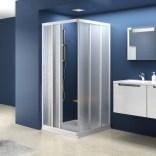 Element kabiny prysznicowej kwadratowej ASRV3-80 Ravak SUPERNOVA 15V40102ZG białej+grape