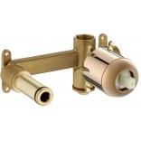 Element podtynkowy do montażu baterii umywalkowych podtynkowych Roca ROSE GOLD A5252206RG różowe złoto