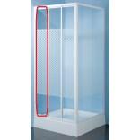Element ruchomy wewnętrzny do kabiny kwadratowej 80 cm, polistyren Sanplast CLASSIC 660-E1107