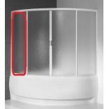Element stały do kabiny nawannowej symetrycznej KWS/ASP 135x135, polistyren Sanplast ASPIRA 660-E0691