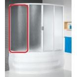 Element stały, lewy do kabiny nawannowej KWA/ASP 95x145, polistyren Sanplast ASPIRA 660-E0797