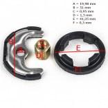 Elementy montażowe baterii Kludi 7439900-00