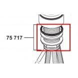 Elementy montażowe baterii kuchennej stojąca 204 mm z obrotową, wyciąganą wylewką Kludi OBJEKTA 7571700-00