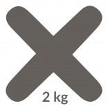 Fuga 05 2 kg Kerakoll FUGABELLA ECO PORCELANA 0-8 81484 antracyt