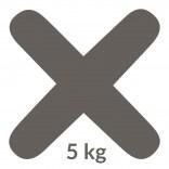 Fuga 05 5 kg Kerakoll FUGABELLA ECO PORCELANA 0-8 81483 antracyt