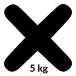 Fuga 06 5 kg Kerakoll FUGABELLA ECO PORCELANA 0-8 81485 czarna