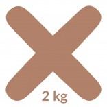 Fuga 11 2 kg Kerakoll FUGABELLA ECO PORCELANA 0-8 81496 brązowa
