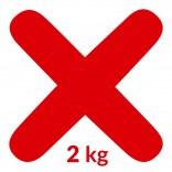 Fuga 21 2 kg Kerakoll FUGABELLA ECO 81619 rosso