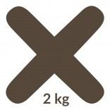 Fuga 48 2 kg Kerakoll FUGABELLA ECO PORCELANA 0-8 81512 mocca