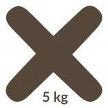 Fuga 48 5 kg Kerakoll FUGABELLA ECO PORCELANA 0-8 81511 mocca