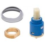 Głowica baterii umywalkowej Cromo z pierścieniem Cersanit S951-077