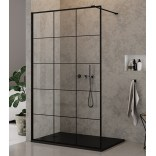 Kabina Walk-In 100x200 New Trendy NEW MODUS BLACK EXK-0103