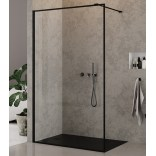 Kabina Walk-In 100x200 New Trendy NEW MODUS BLACK EXK-0107