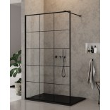Kabina Walk-In 120x200 New Trendy NEW MODUS BLACK EXK-0105