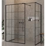 Kabina Walk-In 140x100x200 New Trendy NEW MODUS BLACK EXK-0111