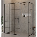 Kabina Walk-In 150x100x200 New Trendy NEW MODUS BLACK EXK-0114
