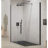 Kabina Walk-In 160x80x200 New Trendy NEW MODUS BLACK EXK-1290