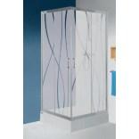 Kabina kwadratowa 100 cm, Sanplast TX5 600-271-0240-26-231 grW15
