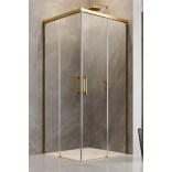 Kabina kwadratowa 110x110 Radaway IDEA GOLD KDD 387063-09-01L, 387063-09-01R złota