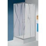Kabina kwadratowa 90 cm, Sanplast TX5 600-271-0230-26-231 grW15