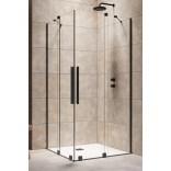 Kabina prysznicowa 110cm Radaway FURO KDD 10105110-54-01R część prawa czarna