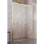 Kabina prysznicowa 110cm Radaway IDEA DWJ 387015-09-01R prawa złota