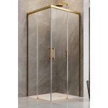 Kabina prysznicowa 110cm Radaway IDEA KDD 387063-09-01L część lewa złota