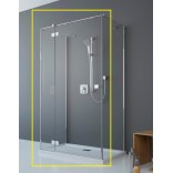 Kabina prysznicowa FRONT 110x200 Radaway ESSENZA NEW KDJ+S 385023-01-01L lewa