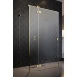 Kabina prysznicowa FRONT 90cm Radaway ESSENZA PRO KDJ+S 10097390-09-01L lewa złota