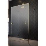 Kabina prysznicowa FRONT 90cm Radaway ESSENZA PRO KDJ+S 10097390-09-01R prawa złota