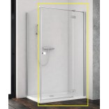 Kabina prysznicowa FRONT 90x200 Radaway ESSENZA NEW KDJ 385044-01-01R prawa