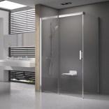 Kabina prysznicowa MSDPS-100/100 L Ravak MATRIX 0WLAA100Z1 biała + transparent
