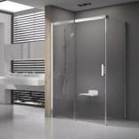 Kabina prysznicowa MSDPS-100/100 L Ravak MATRIX 0WLAAU00Z1 satyna + transparent
