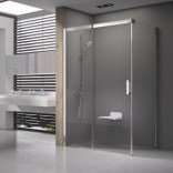 Kabina prysznicowa MSDPS-100/80 L Ravak MATRIX 0WLA4100Z1 biała + transparent