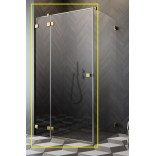 Kabina prysznicowa front 120x200 Radaway ESSENZA PRO GOLD KDJ 10097120-09-01L złota/lewa