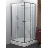 Kabina prysznicowa kwadratowa 80x185 New Trendy VARIA K-0224
