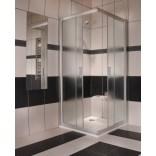 Kabina prysznicowa narożna NRKRV2-90 biała+grape Ravak RAPIER 1AN70100ZG