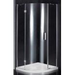 Kabina prysznicowa półokrągła 100 Omnires MANHATTAN ADF10X