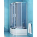 Kabina prysznicowa półokrągła 90x165 New Trendy VARIA K-0132