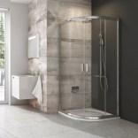 Kabina prysznicowa półokragła 90x190 cm Ravak BLIX 3B270C00ZH