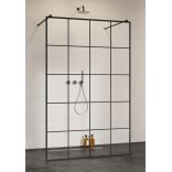 Kabina walk-in 150cm Radaway MODO NEW BLACK I 388154-54-57 Factory
