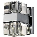 Kinkiet Azardo BOX AZ0035 chrom / kryształ