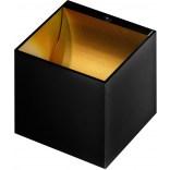 Kinkiet Azardo MARS AZ1052 czarny/złoty