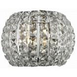 Kinkiet + LED Azzardo SOPHIA AZ2520 chrom / kryształ