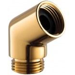 Kolanko rączki prysznicowej Omnires  T87GL złoto